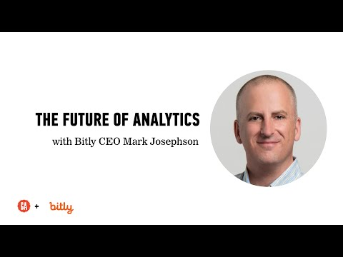 Analytics for Marketers with Bitly CEO Mark Josephson