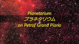 "Ai Otsuka ""Planetarium"" on Petrof Grand Piano"