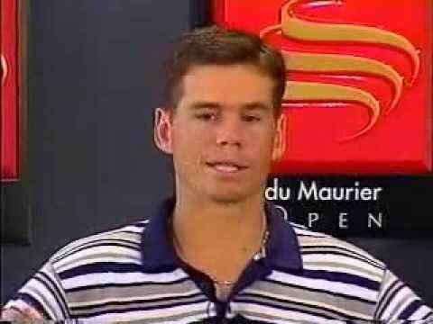 Scott Draper Upsets Jim Courier At 1998 du Maurier Open