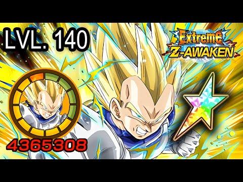 100% EZA PHY SSJ VEGETA [LEVEL 10 LINKS] + STICKER EFFECT! Dragon Ball Z Dokkan Battle