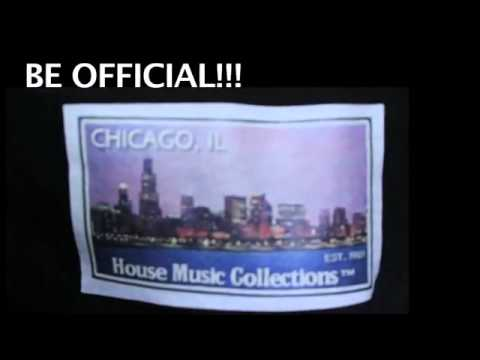 Chicago's The Birth of House Music T-Shirt Promo Video