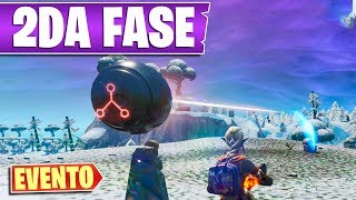 PHASE 2 EVENT: Laser Beam Hits Runa 2 In Booty Rafts Fortnite Season 8