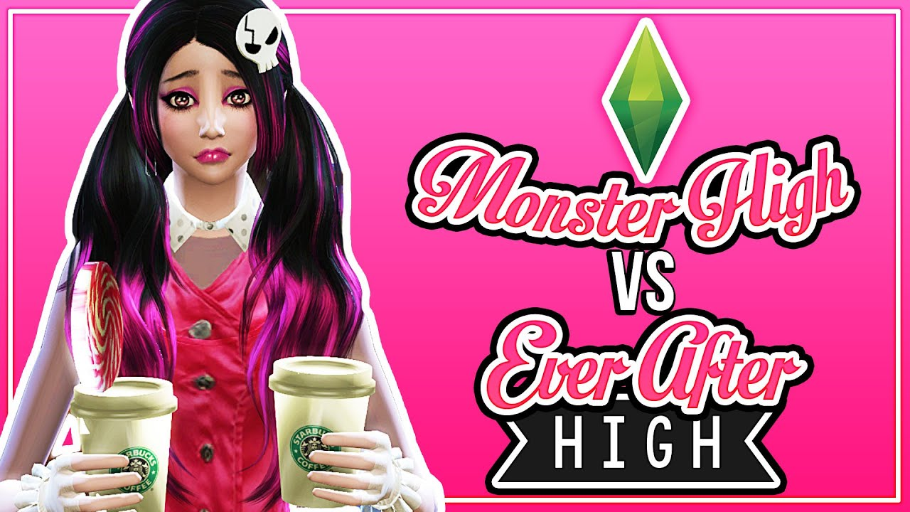 NOT ENOUGH COFFEE // The Sims 4 Monster High vs. Ever After High (Part 11)  - YouTube