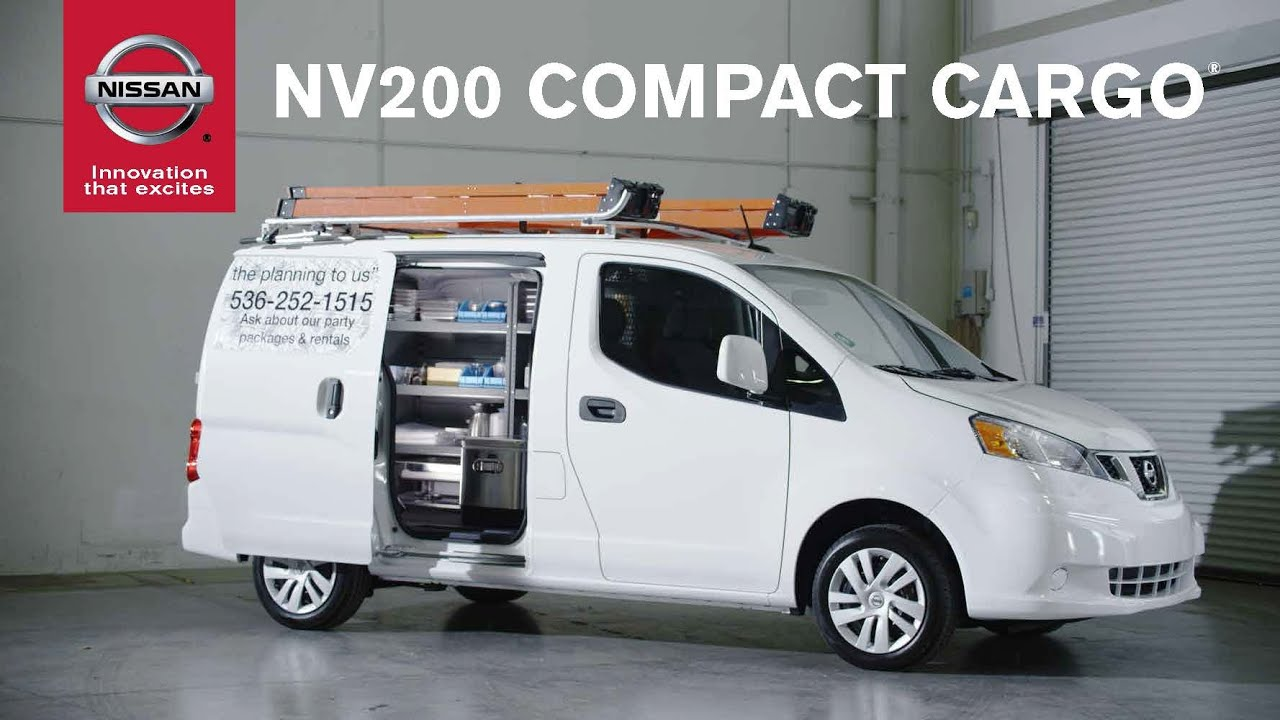 2015 Nissan Nv200 Compact Cargo Van Youtube