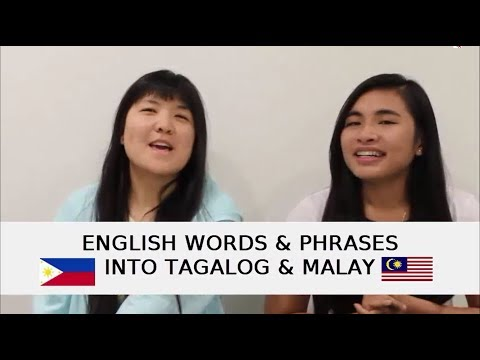 Translation Vlog 1: English to Tagalog and Malay