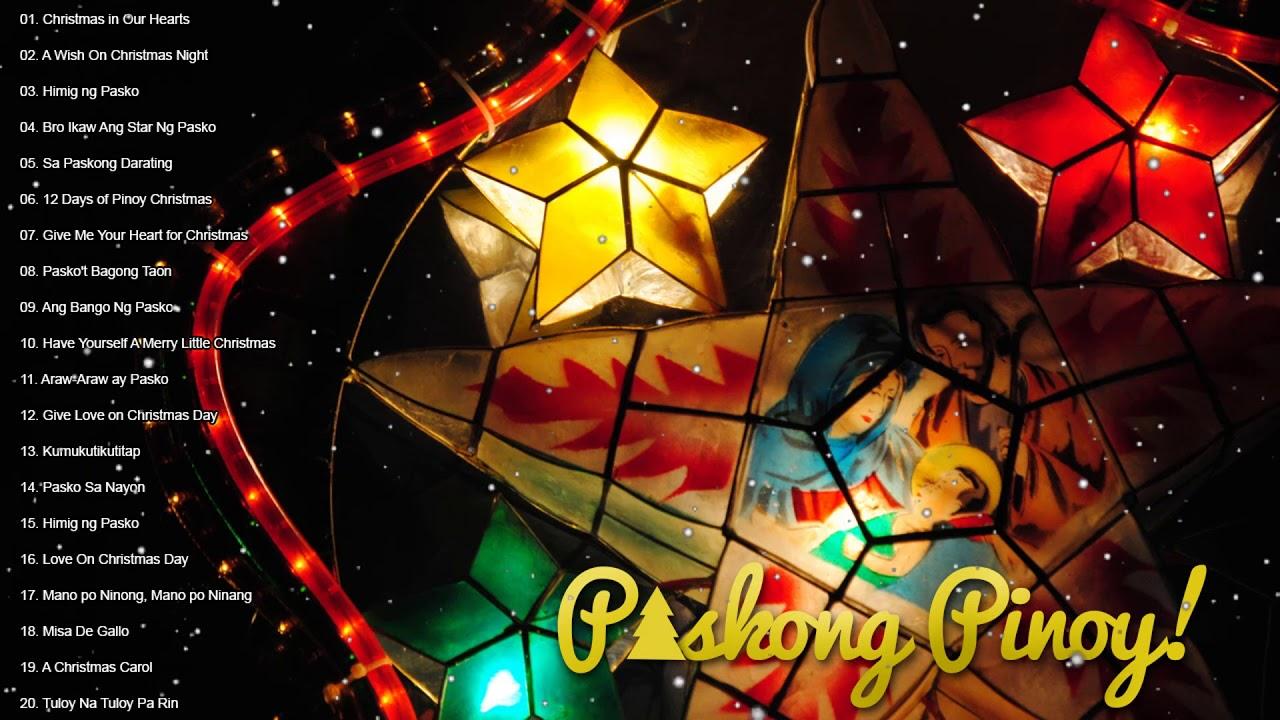 Christmas songs medley tagalog