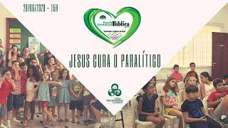 Crianças: Jesus cura o paralítico  - IPT