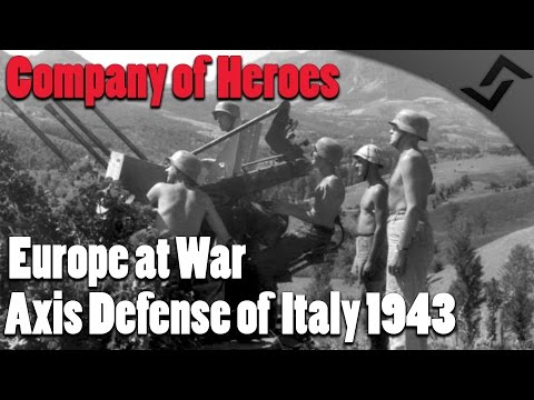 Company of Heroes: Europe at War - Axis Defense of Italy 1943