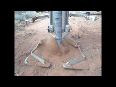 Malina Solar Structures Drilling Rock