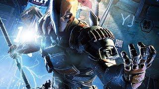 Batman Arkham Origins Gameplay German - Deathstroke Boss Fight