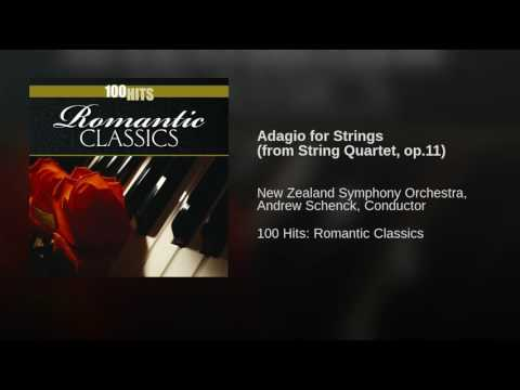 Adagio for Strings (from String Quartet, op.11)
