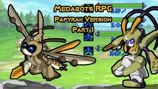 medabots RPG  - Papyrak version (part 1)