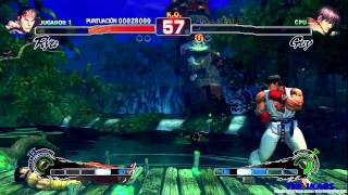 Super Street Fighter  IV  Ataques Especiales ( Xbox 360 ) HD