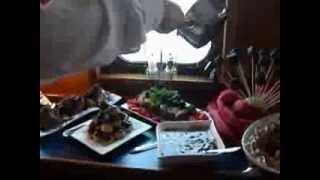 Luxe dessert buffet trouwschip bounty