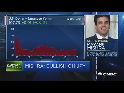 The Japanese yen is one of our top FX calls says strategist