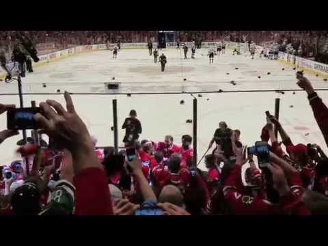Chicago Blackhawks win 2015 Stanley Cup- View from my seats!