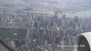 landing new york lga great view of manhattan