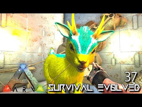 ARK: SURVIVAL EVOLVED: EPIC PRIMAL SHINEHORN TAME E37 !!! ( ARK EXTINCTION CORE MODDED )