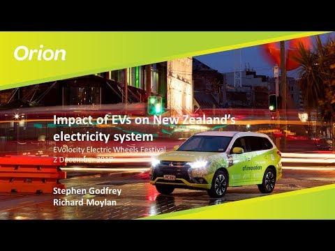 Impact of EVs on New Zealand's electricity system - Orion - Stephen Godfrey & Richard Moylan