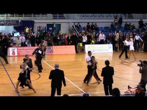 Athens Dance Sport Open Festival 2012 : Adults : Five Dance Latin : SemiFinal