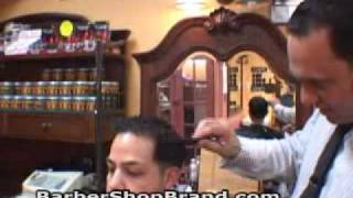 barber shop style men s haircut how to do a taper