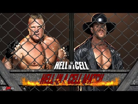 Undertaker full cell brock free in a download match hell vs lesnar