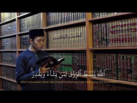 Quran Surah Ar-Ra'd(13):26 - 28