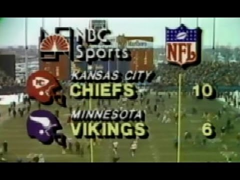 Metropolitan Stadium Last Game - Vikings & Chiefs