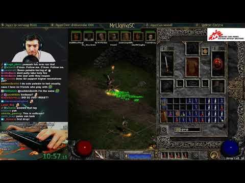 Diablo 2 - LADDER RESET DAY 1!! (Part 1)