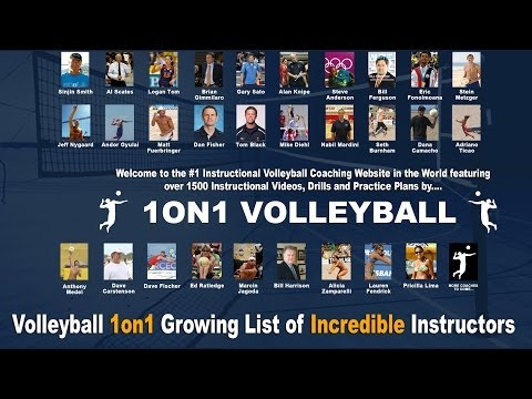 Volleyball1on1.com - #1 Instructional Volleyball Coaching Website in the World