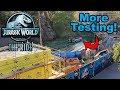 Jurassic World Construction Update | More Testing!