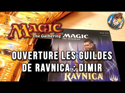 MAGIC The Gathering : ouverture de paquets RAVNICA avec Krayn | DIMIR