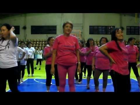 ZUMBA DANCE EXERCISE AT MANDALUYONG GYM ( VIDEO 1 )