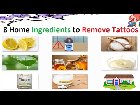 8 Home Remedy Ingredients to Remove your Tattoos - YouTube
