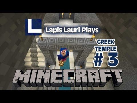 Greek Temple in Minecraft Ep 3