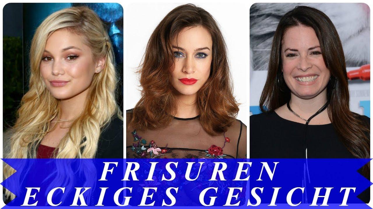 Frisuren Für Eckige Gesichter 2018 Youtube