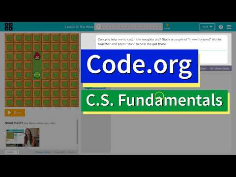 The Maze - Lesson 2.1 - Code.org Accelerated Intro to CS Course