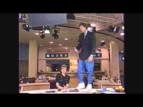 A Typical News Day with Bob Sirott (NBC 5 News First Thing in the Morning) 7-15-1992