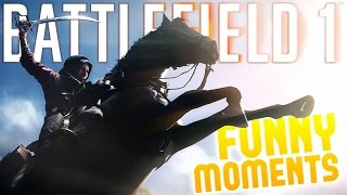 Battlefield 1 Multiplayer - Vehicle Warfare - Sinai Desert - Battlefield 1 Gameplay Highlights