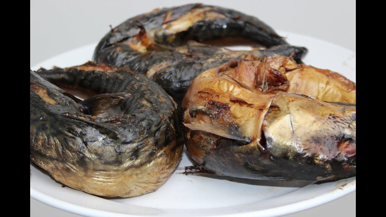 Smoked mackerel nigerian food african food youtube for How to smoke fish