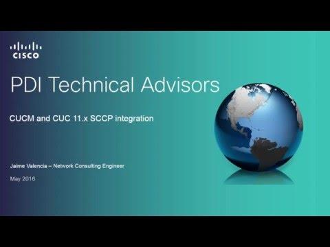 How to configure CUCM-CUC SCCP integration