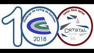 World Curling Tour, Challenge de curling de Gatineau 2018, Saturday, October 20, Match 1