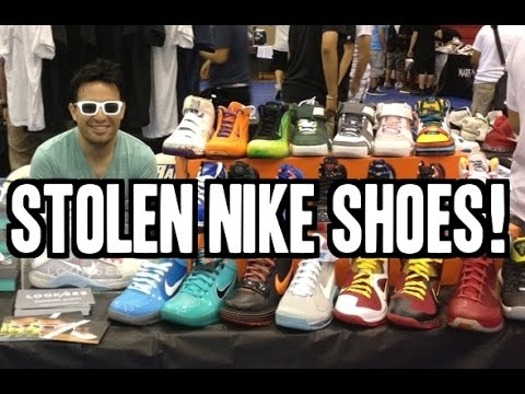 Nike Employee Steals $800k Worth Of Sneakers!