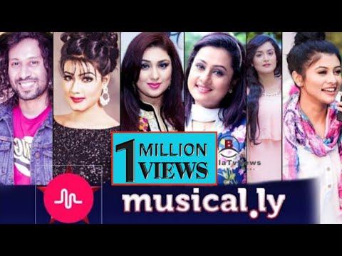 Bangladeshi Celebrity Funny musically Part 1   apu biswas    mahiya mahi    MumtaheenaToya    nadia