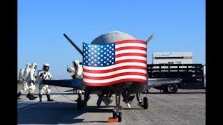 Most Secretive US Space Aircraft X-37B OTV being moved for Launch in Capsule + LANDING (2018)