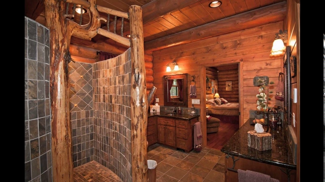 rustic master bathroom designs - youtube