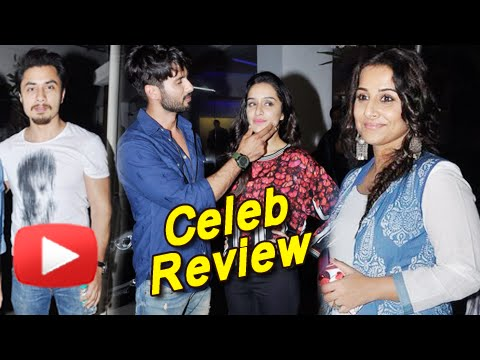 Haider Movie Celeb Review | Special Screening Of Haider