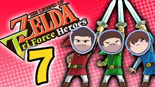 Zelda Tri Force Heroes: Selective Incompetence - PART 7 - Grumpcade