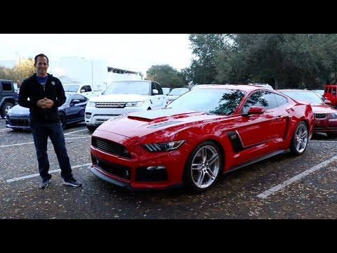Why is the 2017 ROUSH Stage 3 Mustang a SHOW STOPPER?
