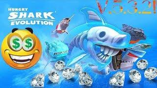 Hungry Shark Evolution V.5.3.2 [MOD] DINHEIRO & DIAMANTE INFINITO